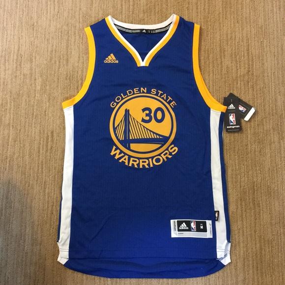 huge selection of 5b7df b53de Golden State Warriors Stephen Curry Jersey Adidas NWT